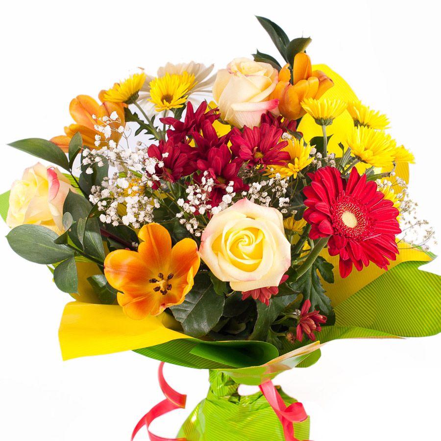 "Букет цветов ""Ласковое солнце"""